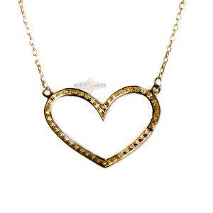 Gargantilla oro corazon