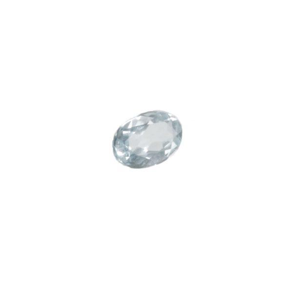 Piedra agua marina oval